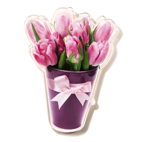Magnet Šopek tulipanov
