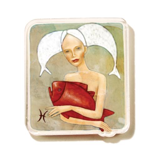 Magnet Horoskop 4 Ribi