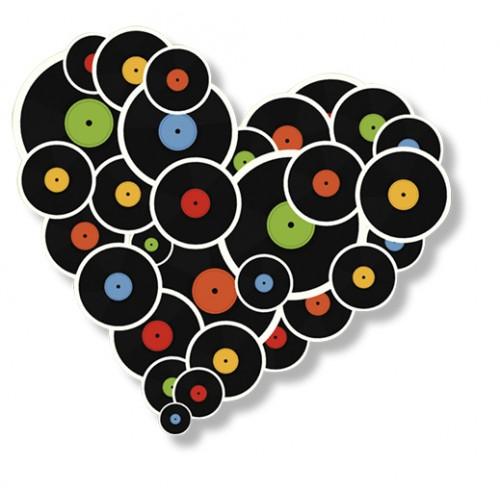 Magnet Glasba srca