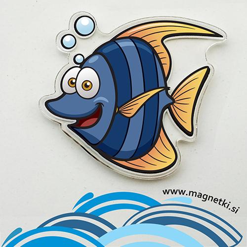 Magnet Ribica črtica